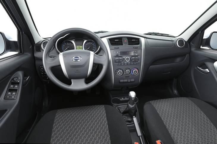 datsun foto salona Опубликованы официальные фотографии первой модели Datsun