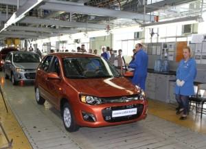 konveyer kalina 2 300x217 Конвейер Калины на АвтоВАЗе готовят к выпуску Datsun