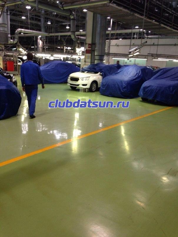 clubdatsun.ru exclusive Шпионская фотография передней части нового Datsun