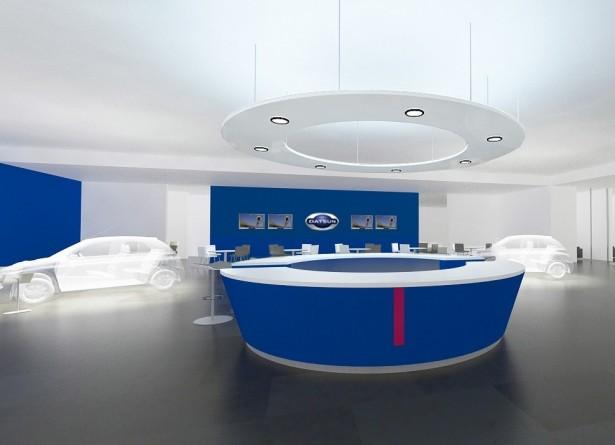 salon datsun2 Датсун показал дизайн своих будущих автосалонов