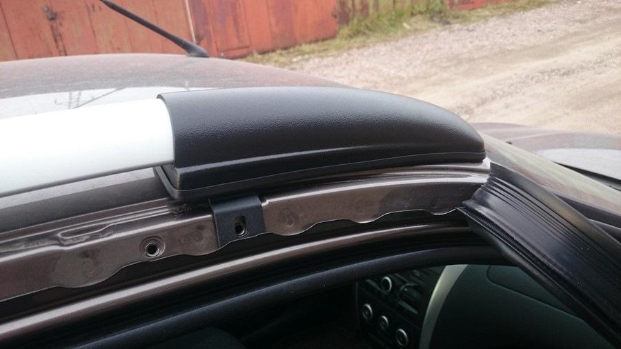 92bdaecs 960 Процесс установки рейлингов на крышу Datsun on Do