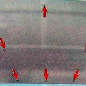 Снятие обшивки потолка Гранта3 300x300 Шумоизоляция крыши на Datsun on Do и mi Do