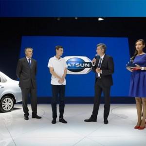 1409247329 datsunklyuchi2 300x300 Первый владелец торжественно получил ключи от Datsun on DO