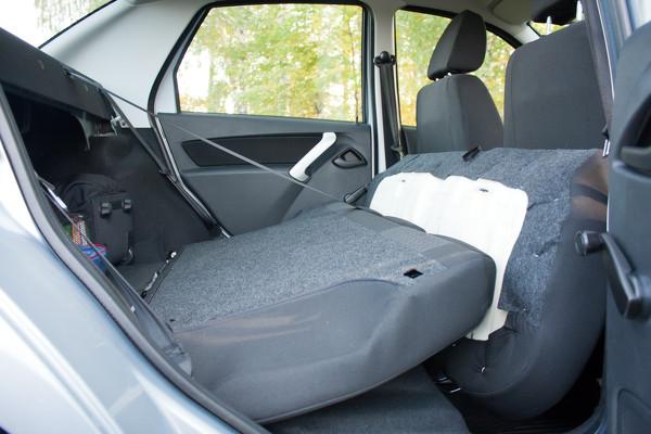 Задние и передние сиденья на Datsun on Do и mi Do