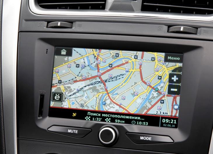 4 new datsun mi DO 2014 2015 interior navigation Тест драйв Датсун ми До: видео, +фото