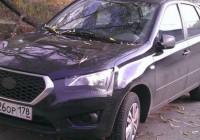 Datsun mi-DO был замечен в Москве