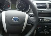 Оплетка на руль для Datsun mi-Do и on-Do
