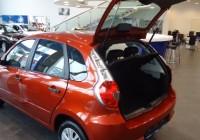 Багажник Datsun mi-Do — объем, фото