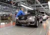 Японский седан Datsun on-DO выходит на российский рынок