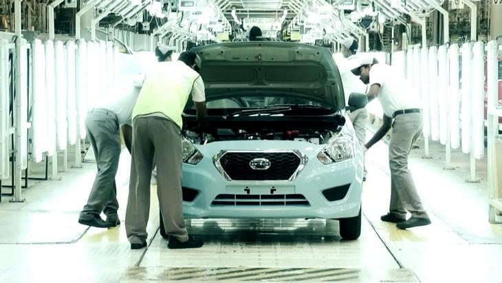 datsun india В Индии запустили производство Datsun Go
