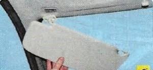 Снятие обшивки потолка Гранта 300x138 Шумоизоляция крыши на Datsun on Do и mi Do