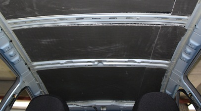 40 Шумоизоляция крыши на Datsun on Do и mi Do