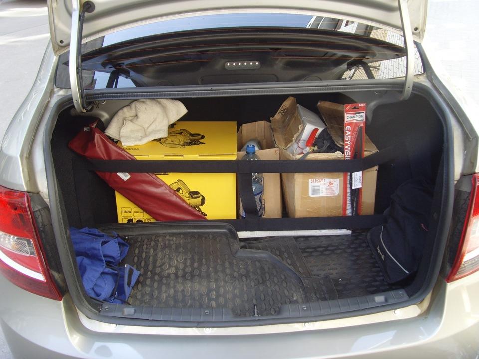 5 Порядок в багажнике Datsun on Do и mi Do