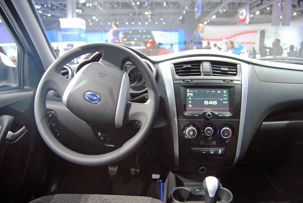 Датсун салон Штатная магнитола на Datsun on Do и mi Do   руководство