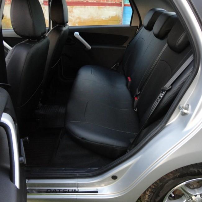 Датсун 2 650x650 Чехлы на сиденья Датсун он До и ми До   обзор цен, где купить? Инструкция по установке