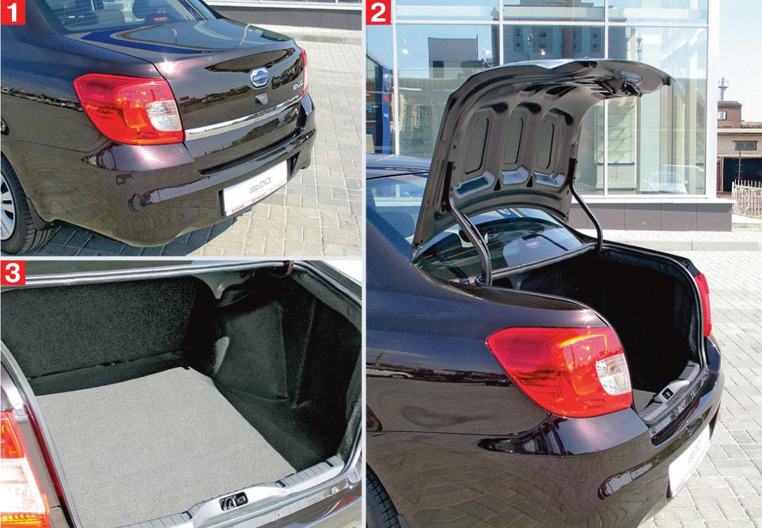 7 Как открыть капот и багажник на Datsun on Do и mi Do