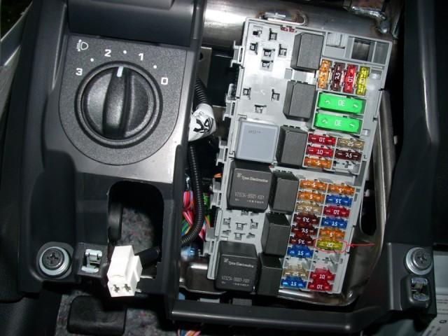 Блок предохранителей на Datsun on-Do и mi-Do