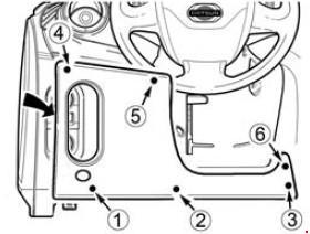 KnigaProAvto.RU001343 Обозначение предохранителей и реле на Datsun on Do и mi Do