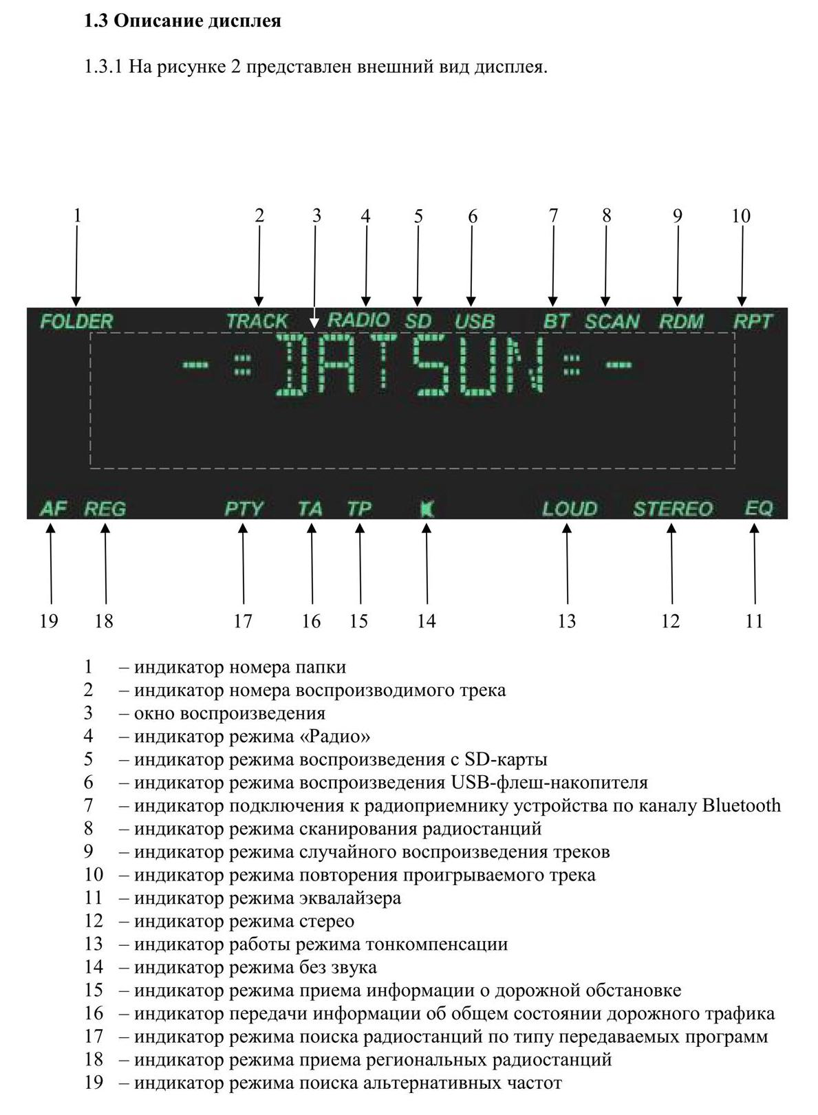 shtatnaya magnitola datsun 3 Штатная магнитола на Datsun on Do и mi Do   руководство