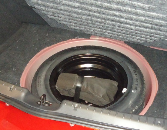 bag2 Багажник Datsun mi Do   объем, фото