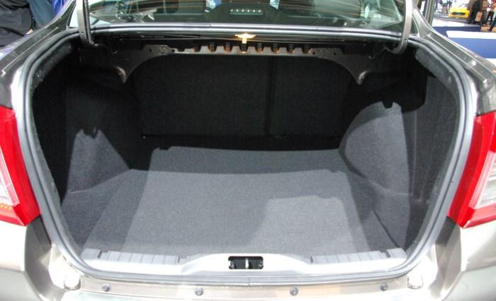 foto bagaznik Datsun on DO1 Датсун он До   отзывы владельцев с фото