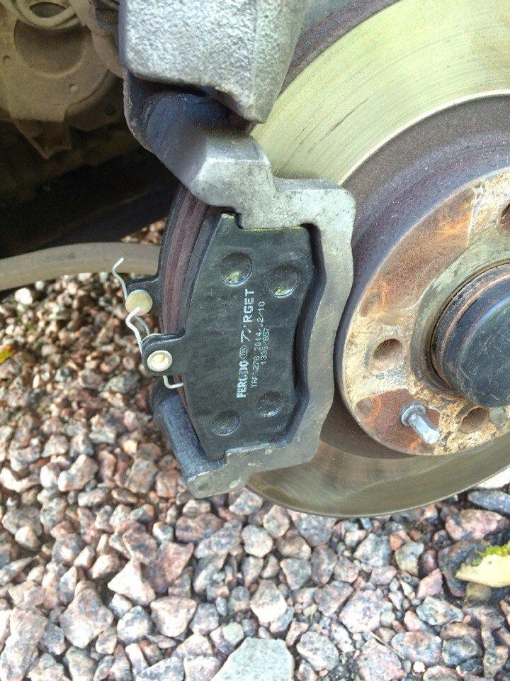1f3c92as 960 Самостоятельная замена передних тормозных колодок Датсун он До и ми До