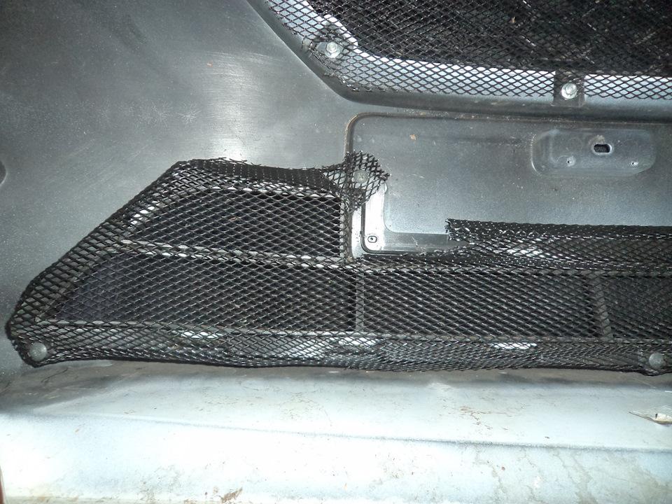 1a1044es 960 Ставим защитную сетку радиатора на Датсун он До и ми До