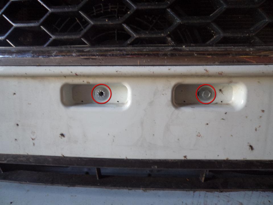 258044es 960 Ставим защитную сетку радиатора на Датсун он До и ми До