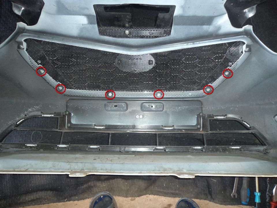 3ee044es 960 Ставим защитную сетку радиатора на Датсун он До и ми До