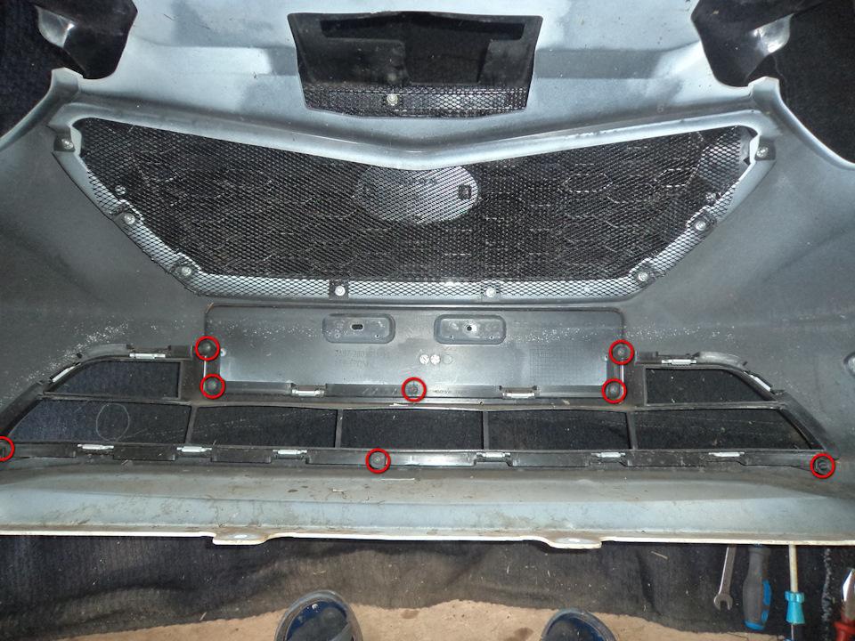 dfe044es 960 Ставим защитную сетку радиатора на Датсун он До и ми До