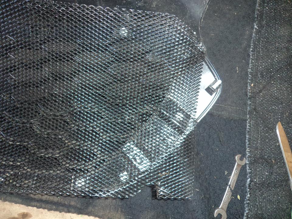 ff6044es 960 Ставим защитную сетку радиатора на Датсун он До и ми До