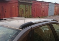 Процесс установки рейлингов на крышу Datsun on-Do